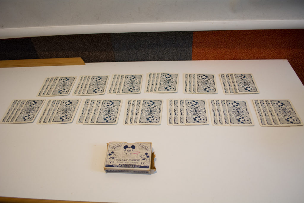 Deck of Thomas De La Rue Mickey Mouse Playing Cards