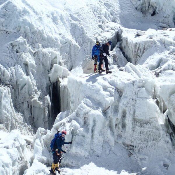 Khumbu Icefall, Mt. Everest