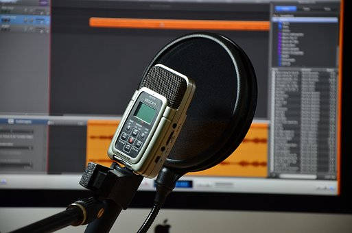 Microphone audio recording