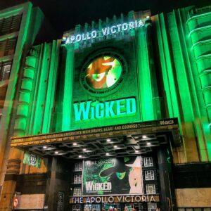 Wicked at Apollo Victoria, London