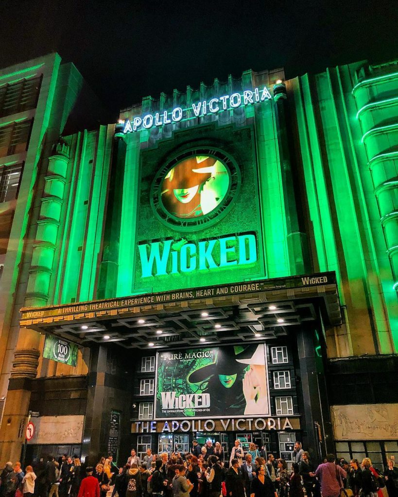 Wicked at Apollo Victoria, London