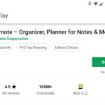 Evernote App on Google Play