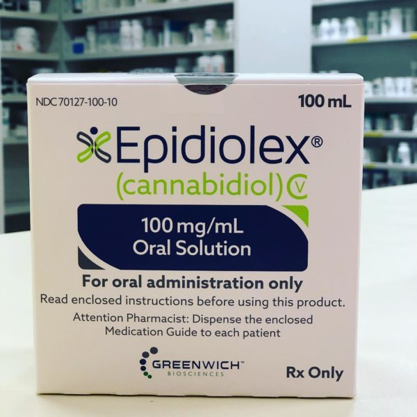 Epidiolex (cannabidiol) epilepsy drug