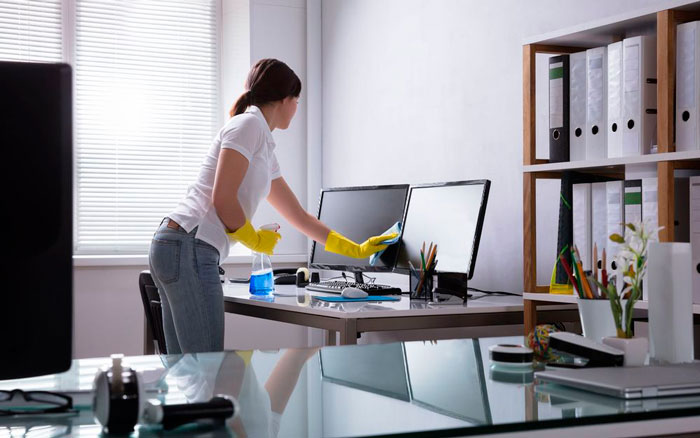 Office Cleaning Tricks