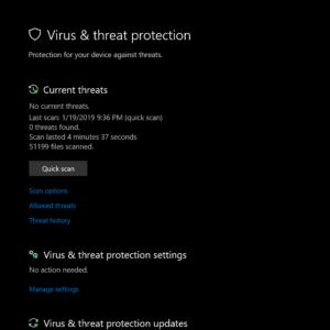 Windows Security Screenshot