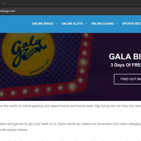 Boomtown Bingo Website Screenshot