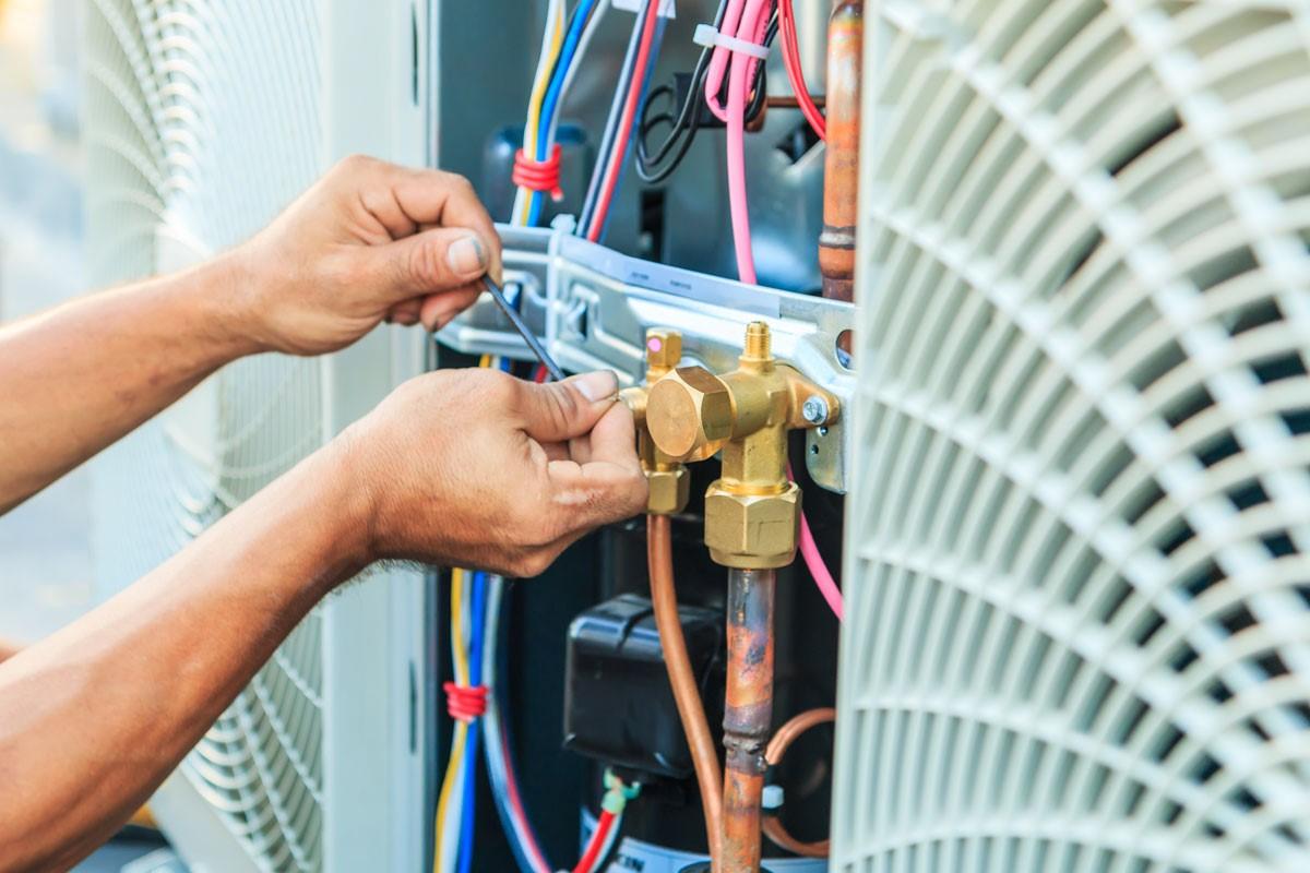 Repairing AC unit