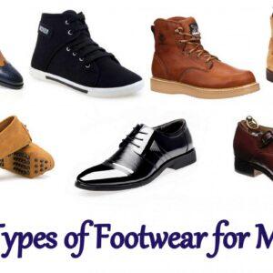7 Types of Footwear for Men