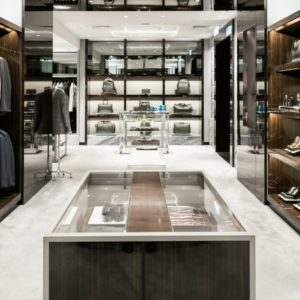 Luxury clothing store
