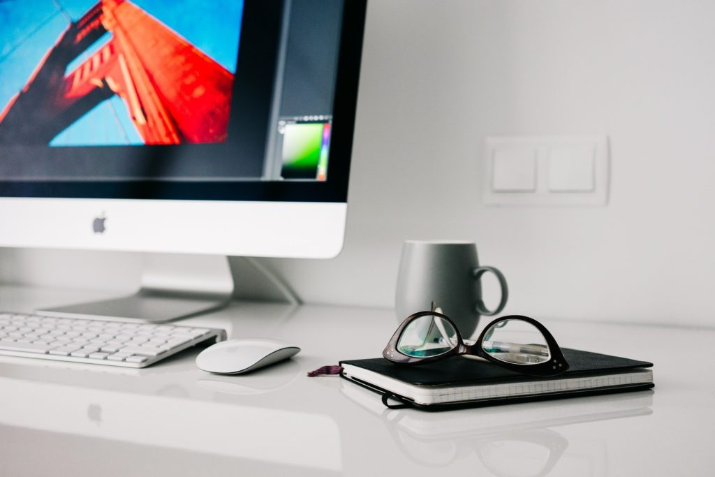 iMac on a desk