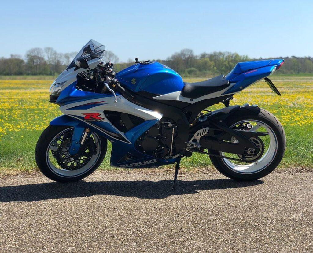 Suzuki GSX R600 Motorcycle