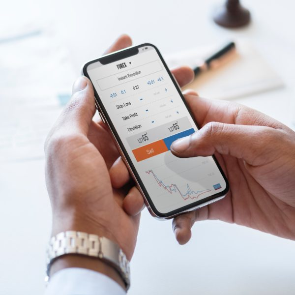 Forex Trading on iPhone
