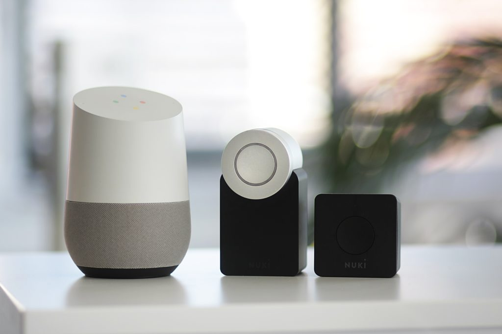 Google Home and Nuki smart lock