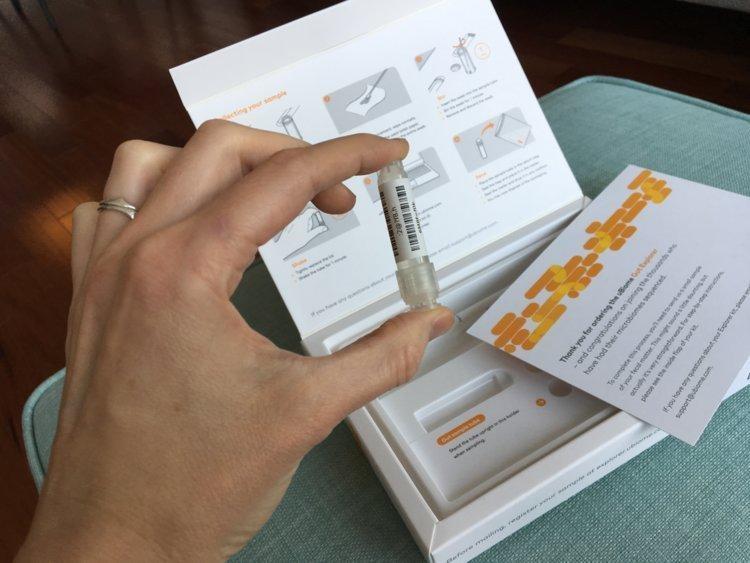 Gut microbiome testing kit