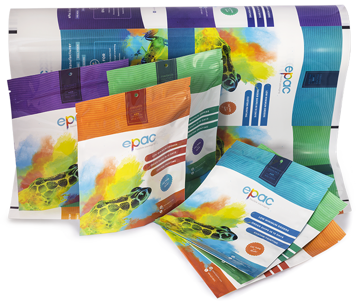 Flexible Packaging Printing Simplified with Bags and Pouches