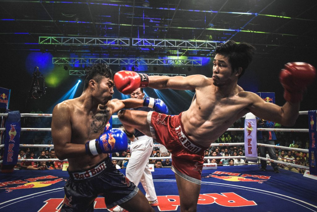 Muay Thai Fight at Phnom Penh, Cambodia