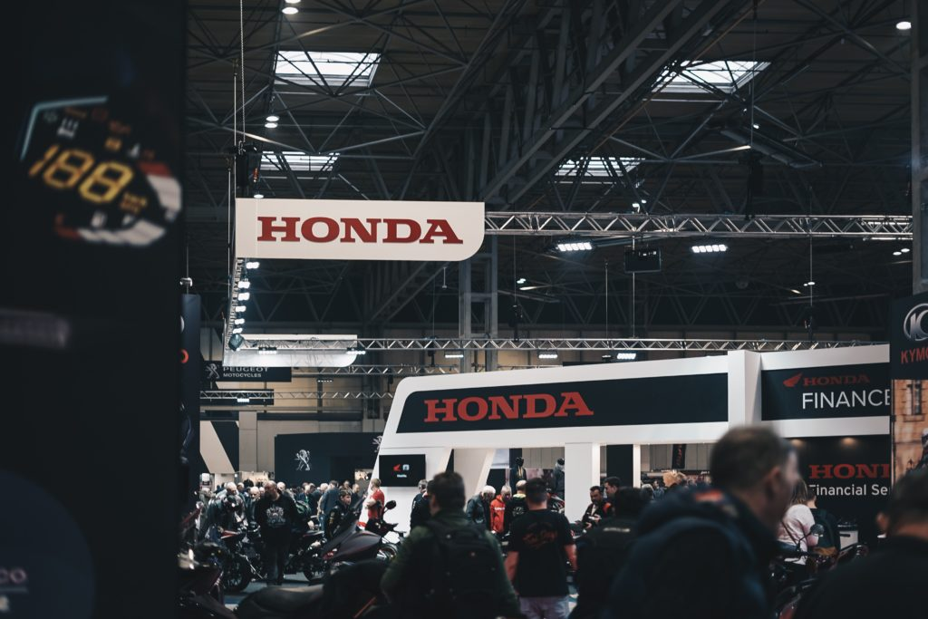 Honda at tradeshow