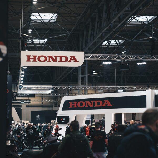 Honda at tradeshow