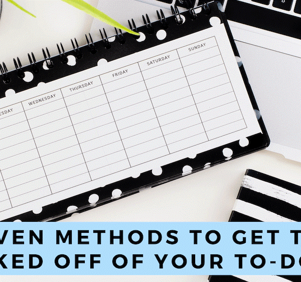 5 Proven Methods to Get Things Checked Off of Your To-Do List