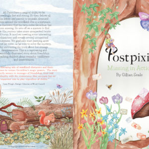 Postpixie by Gillian Seale front and back cover