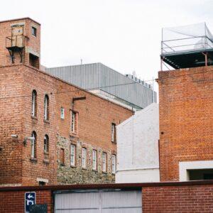 Brown brick building in Adelaide, South Australia