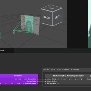 Spark AR Studio spark-fit2screen screenshot