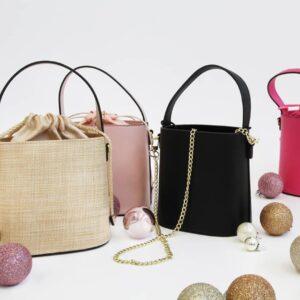 Olga Berg bucket bags