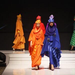 Indonesia Modest Fashion Week catwalk