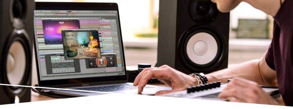 Native Instruments Kinetic Treats VST in Ableton Live