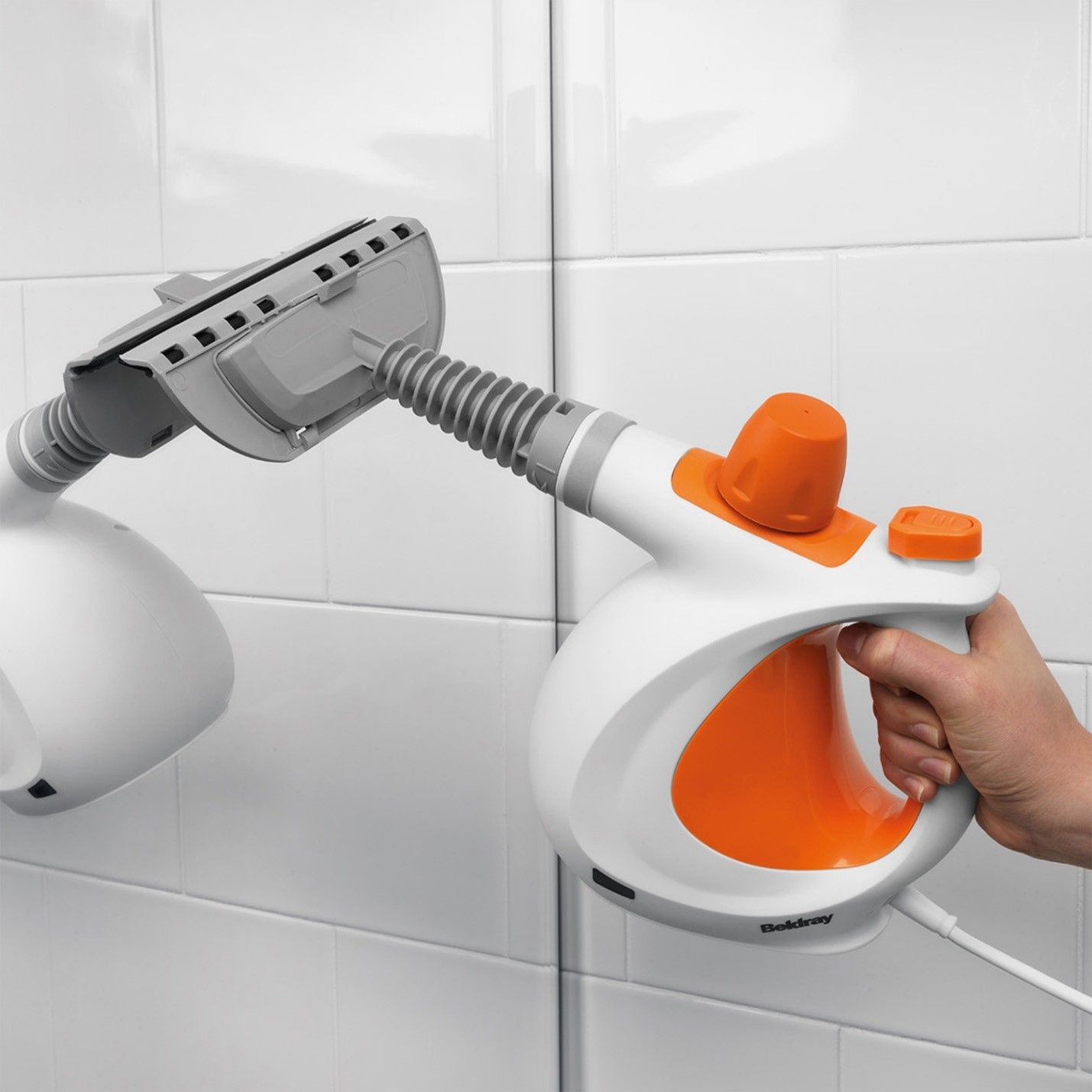 Beldray portable steam cleaner