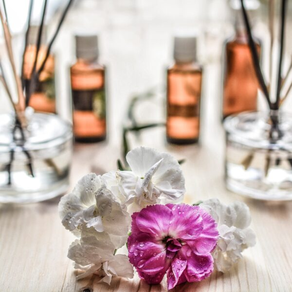 Flowers and essential oils