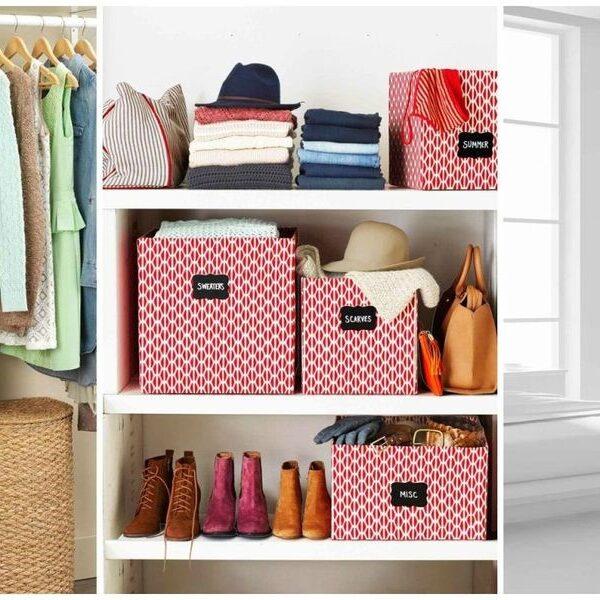 Organizing clothes