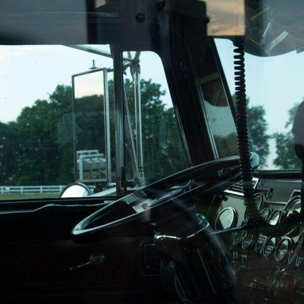 Big rig steering wheel