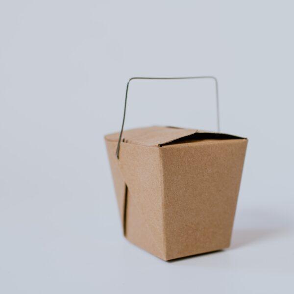 Paper mini takeout box