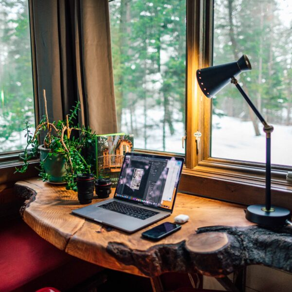 Cosy home office