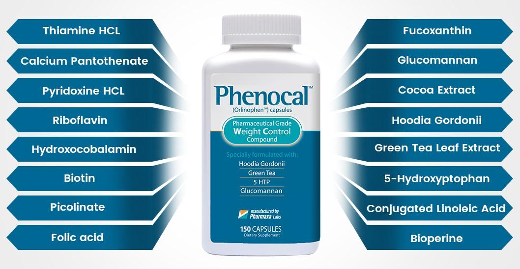 Phenocal Ingredients