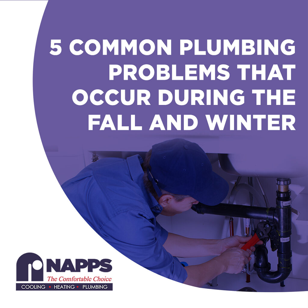 5 Common Plumbing Problems That Occur During the Fall and Winter