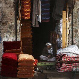 Merchant in Afghanistan