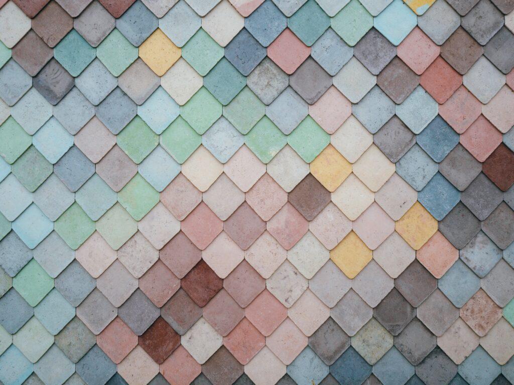 Tiles in Stratford, London, United Kingdom