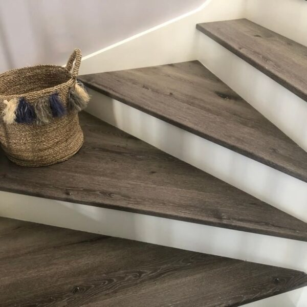 Stone Grey SPC hybrid flooring