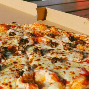 Rustic woodfire pizza