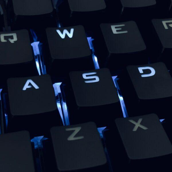 Computer keyboard WASD
