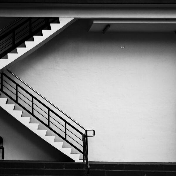 U-shaped staircase