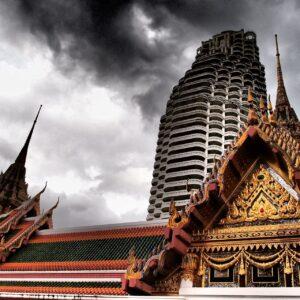 Wat Yannawa Temple, Bangkok, Thailand