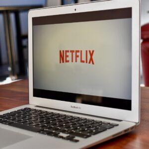 Netflix on a MacBook Air