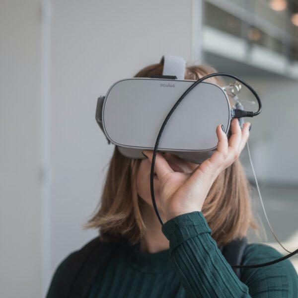 Oculus virtual reality headset
