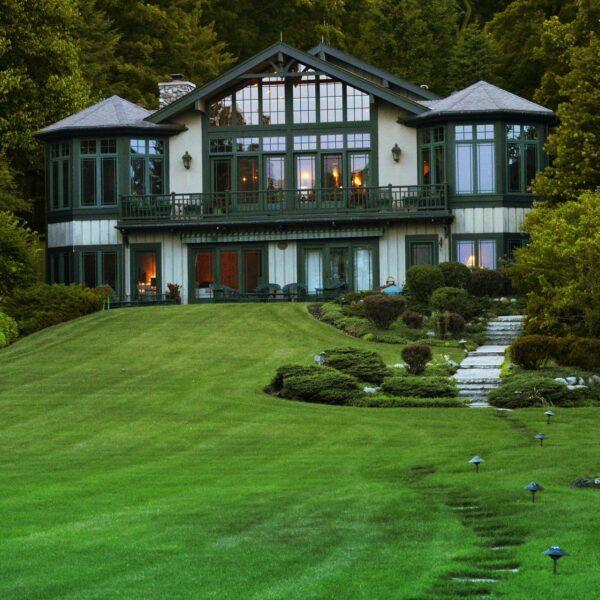 Lake Geneva house