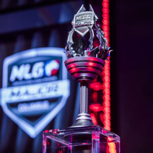 The cup for the CS:GO MLG Columbus tournament.